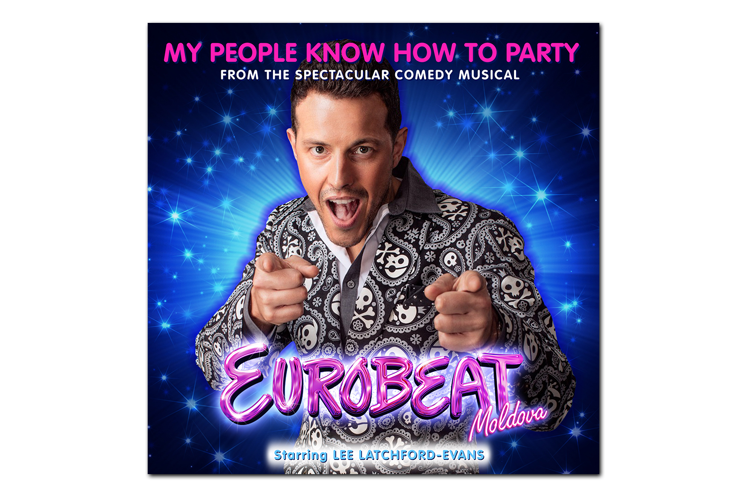 Eurobeat Moldova My People Know How To Party Single Lee Latchford-Evans